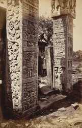 Pillars of east gate, Sanchi Tope